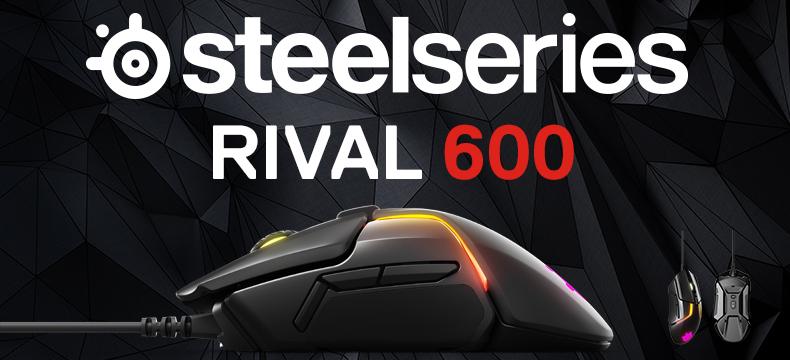 赛睿 SteelSeries Rival 600 幻彩版 有线鼠标