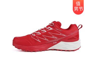 探路者大红PAO-F1越野跑鞋