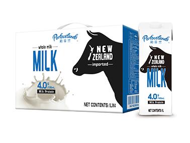 【轻众测】Perfectlands柏菲兰 新西兰纯牛奶 1L*10