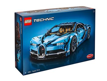 2018Technic超旗舰布加迪奇龙42083(车模)