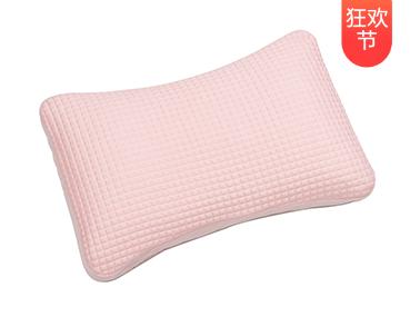 【众测狂欢】菠萝斑马 快眠枕 人体工学高分子软管枕