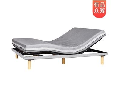 【有品众筹】8H Milan智能电动床 电动床架+记忆棉床垫 1.5m众筹价3799元丨评论有奖