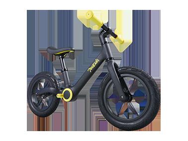 700kids柒小佰滑步车A1-场地竞技滑步车全盔套装(滑步车小黄和全盔小黄搭配套装)