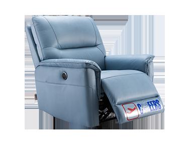 芝华仕 1068 电动可躺可摇科技布功能单椅