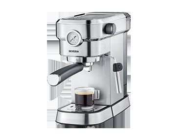 德国Severin KA5995意式半自动咖啡机(含咖啡师套装和电动磨豆机一台)