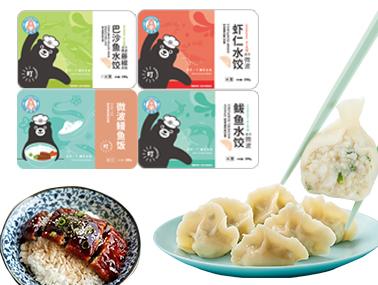 福迪宝微波系列水饺鳗鱼饭礼盒